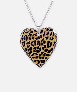 Cheetah Print Necklace