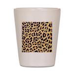 Cheetah Print Shot Glass