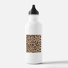 Cheetah Print Water Bottle