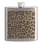 Cheetah Print Flask