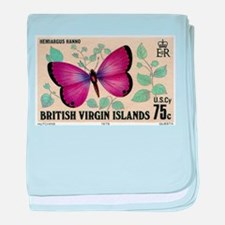 1978 Virgin Islands Hemiargus Butterlfy Stamp baby