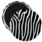 Black and White Zebra Print 2.25