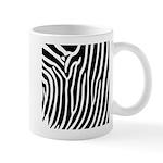 Black and White Zebra Print Mug