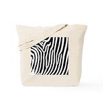 Black and White Zebra Print Tote Bag