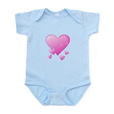 Valentine's Heart Infant Bodysuit