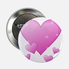 """Valentine's Heart 2.25"""" Button"""