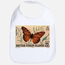 1978 Virgin Islands Dione Vanillae Butterlfy Stamp