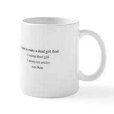 Dead Girl Float Mug