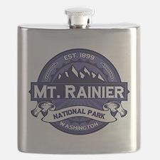 Mt. Rainier Midnight Flask