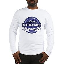 Mt. Rainier Midnight Long Sleeve T-Shirt