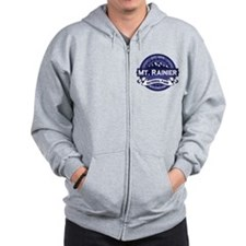 Mt. Rainier Midnight Zip Hoodie