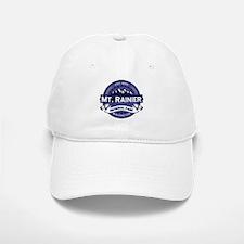 Mt. Rainier Midnight Baseball Baseball Cap