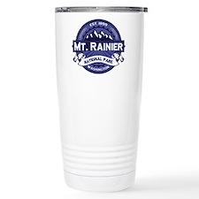 Mt. Rainier Midnight Travel Mug