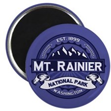 Mt. Rainier Midnight Magnet