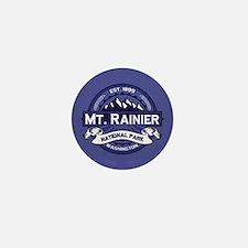 Mt. Rainier Midnight Mini Button
