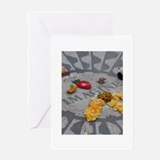 Imagine Strawberry Fields NYC Greeting Card