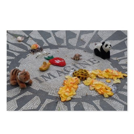 Imagine Strawberry Fields NYC Postcards (Package o