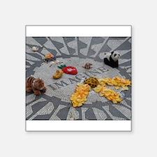 Imagine Strawberry Fields NYC Sticker