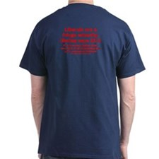 2sided - Liberals are a fringe minority - T-Shirt