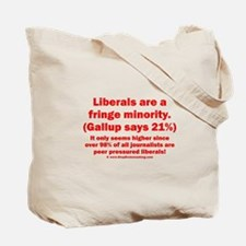 2sided - Liberals are a fringe minority - Tote Bag
