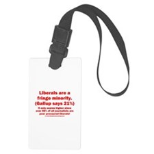 2sided - Liberals are a fringe minority - Luggage Tag