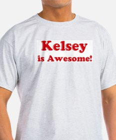 Kelsey is Awesome Ash Grey T-Shirt