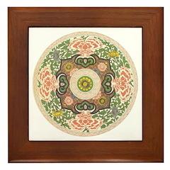 Chinese Dynasty Framed Tile