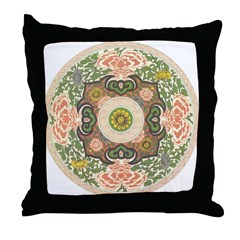 Chinese Dynasty Throw Pillow