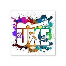 Color Me Uke! Sticker