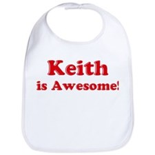Keith is Awesome Bib