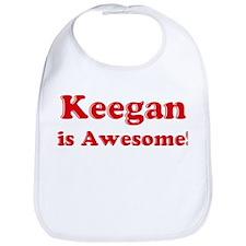 Keegan is Awesome Bib