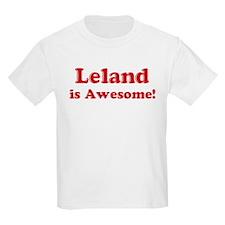 Leland is Awesome Kids T-Shirt