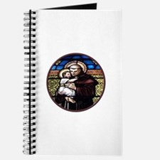 ST. ANTHONY OF PADUA STAINED GLASS WINDOW Journal