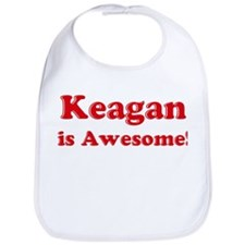 Keagan is Awesome Bib