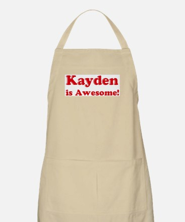 Kayden is Awesome BBQ Apron