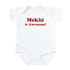 Mekhi is Awesome Infant Bodysuit