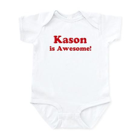 Kason is Awesome Infant Bodysuit