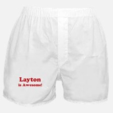 Layton is Awesome Boxer Shorts