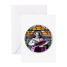 St. John The Evangelist Stained Glass Window Greet