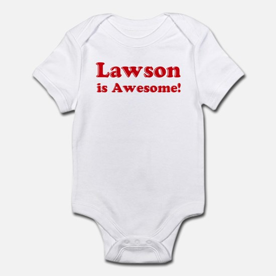 Lawson is Awesome Infant Bodysuit