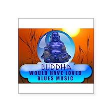 Buddha Blues Sticker