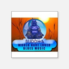 Buddha Blues Sticker