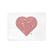 I Love Erma 5'x7'Area Rug