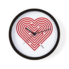 I Love Erma Wall Clock