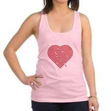 I Love Erma Racerback Tank Top