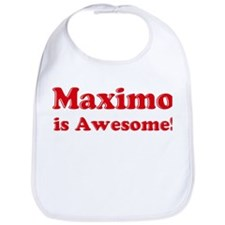 Maximo is Awesome Bib