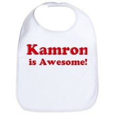 Kamron is Awesome Bib