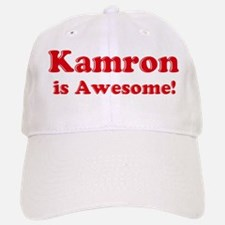 Kamron is Awesome Baseball Baseball Cap