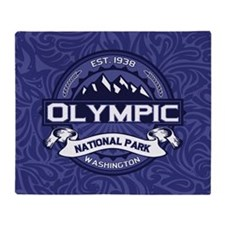 Olympic Midnight Throw Blanket