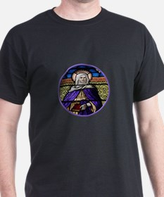 St. Anne Stained Glass Window T-Shirt